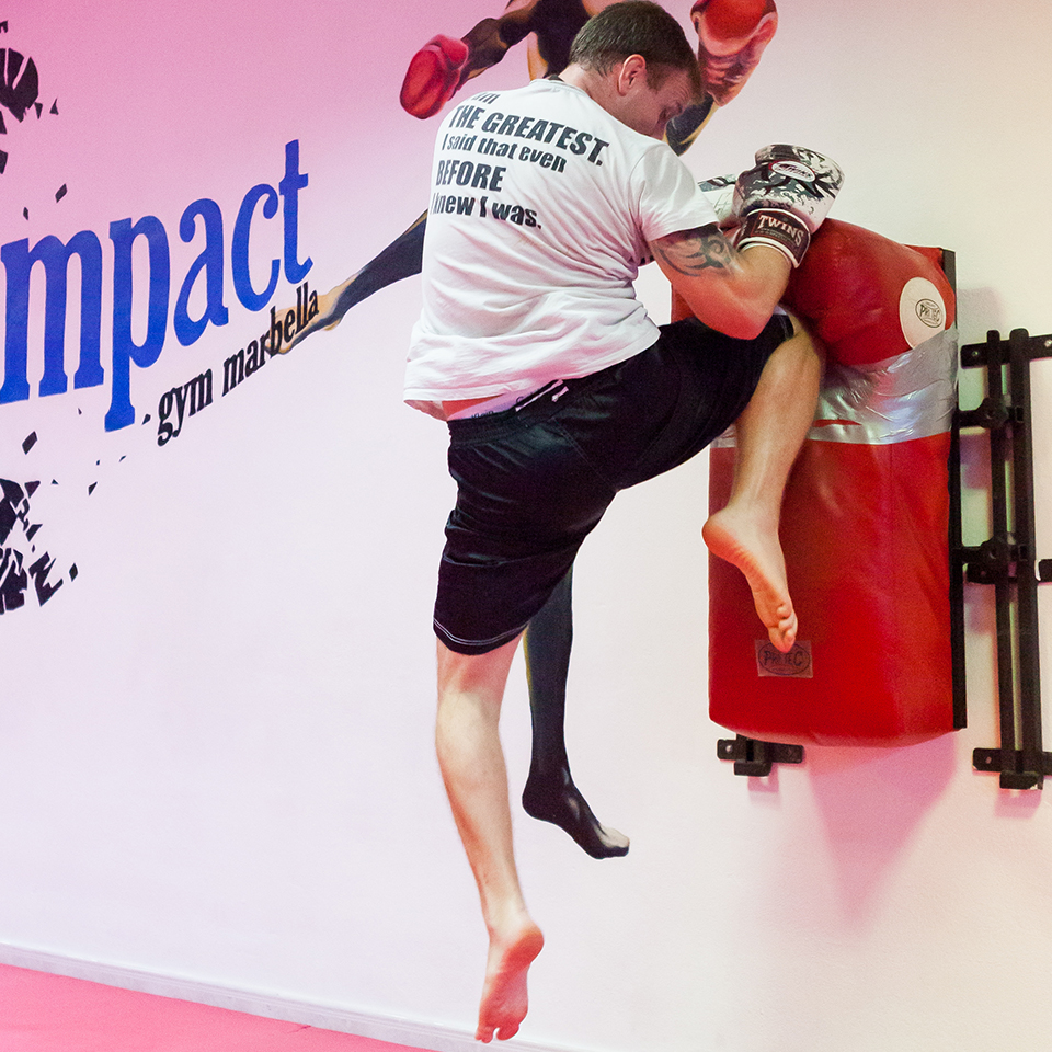 Shaun James -Kickboxing/Boxing Head Trainer/Owner at Impact Gym Marbella 015